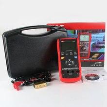 UNI-T UT611 Portable Handheld LCR Meter 10KHz Inductance Capacitance Resistance L C R DCR Q D Theta ESR Tester  стоимость