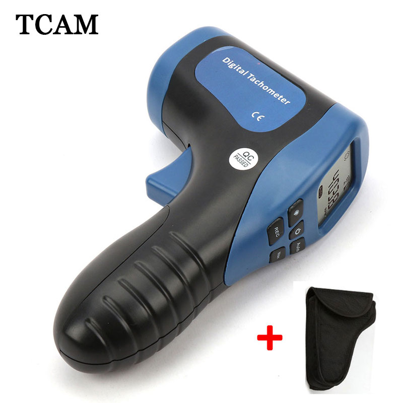 TL-900 Laser Digital Tachometer Non-Contact Measuring Range:2.5-99999RPM