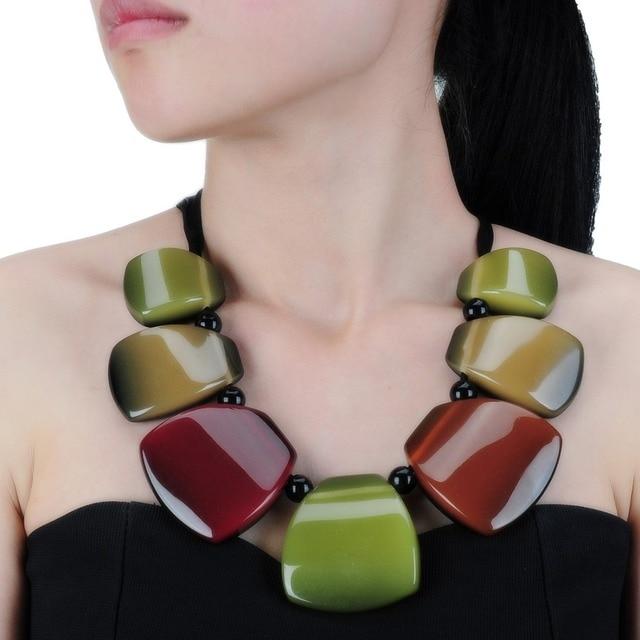 Новое поступление модные ювелирные украшения на нитке цепочке смолы красочные подвеска на ожерелье цепочки и ожерелья обувь для девочек дл...
