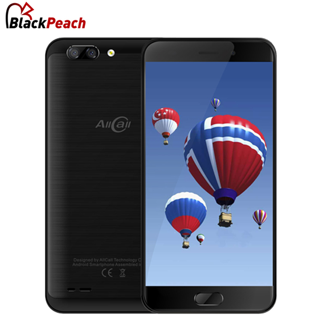 """AllCall Atom 5.2"""" HD Mobile Phone MTK6737 Quad Core Android 7.0 2GB RAM 16GB ROM 8MP+2MP Cameras 2100mAh Battery Smartphone"""