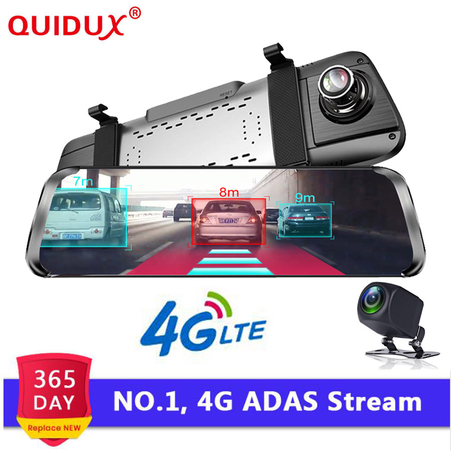 QUIDUX 4G ADAS voiture DVR caméra 10