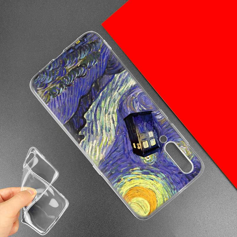 Box Doctor Who Van Gogh Case for Xiaomi Redmi Note 7 7S K20 Y3 GO S2 6 6A 7A 5 Pro MI Play 9T A1 A2 8 Lite Poco F1 Phone Bags