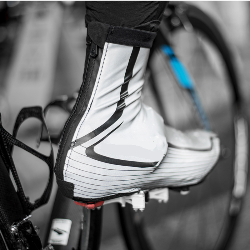 High Quality Waterproof Winter Cycling Shoe Covers Reflective Thermal Elastic Durable Windproof Bike Rain Overshoes Sneaker Cove