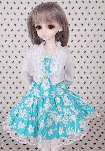 2018 New Arrival 1/3 1/4 1/6 1/8 BJD Doll Dress Clothes SD Volks Dod Sooms Ai Doll Lovely Dress Dolls Accessories  2