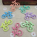 Free Shipping 30pcs bicycle Charms Zinc Alloy Charm Pendant Assorted Mixed Colors fit Baby Jewelry Accessory