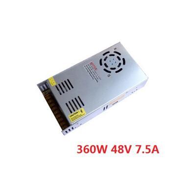 Best quality 48V 7.5A 360W Switching Power Supply Driver for CCTV camera LED Strip AC 100-240V Input to DC 48V free shipping led power supply 48v 21a 100 120v 200 240v ac input single output switching power supply 1000w 48v transformer