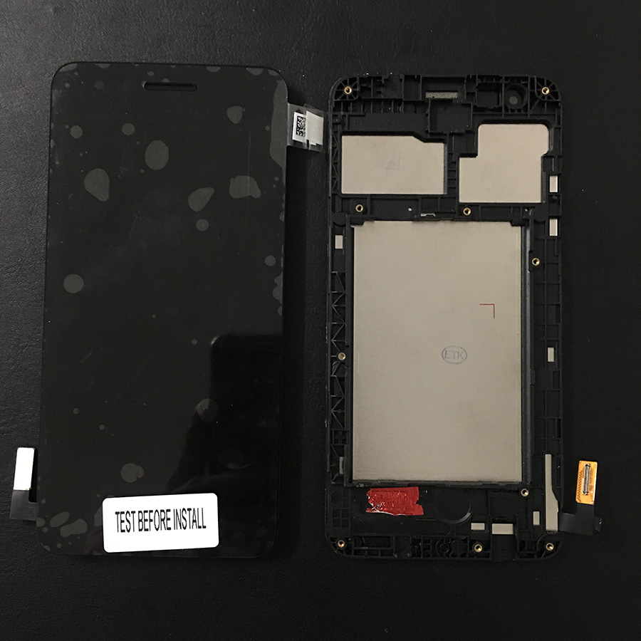 For <font><b>LG</b></font> K4 2017 <font><b>M160</b></font> <font><b>LCD</b></font> Display Touch Screen Digitizer Assembly With Frame image