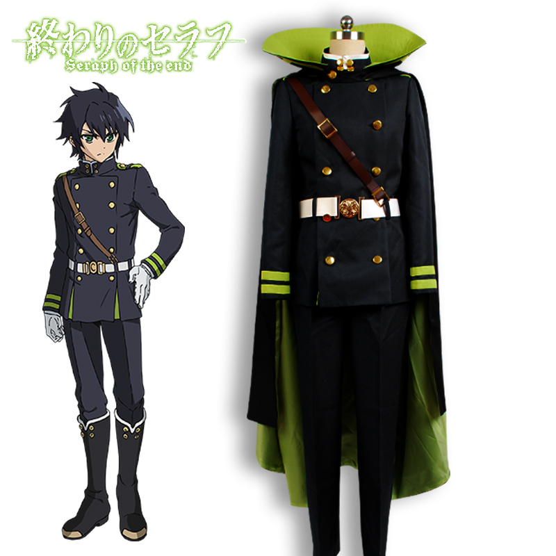 Seraph Of The End Owari No Serafu Yuichiro Hyakuya Uniform ...
