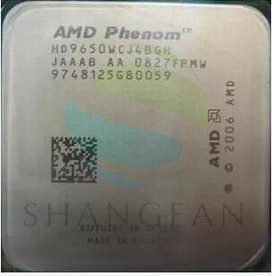 AMD Phenom X4 9650 X4-9650 Quad-Core DeskTop 2.3GHz CPU HD9650WCJ4BGH Socket AM2+/940pin