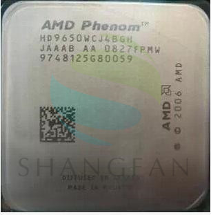 AMD Phenom X4 9650 X4-9650 Quad-Core De Bureau 2.3 GHz CPU HD9650WCJ4BGH Socket AM2 +/940pin