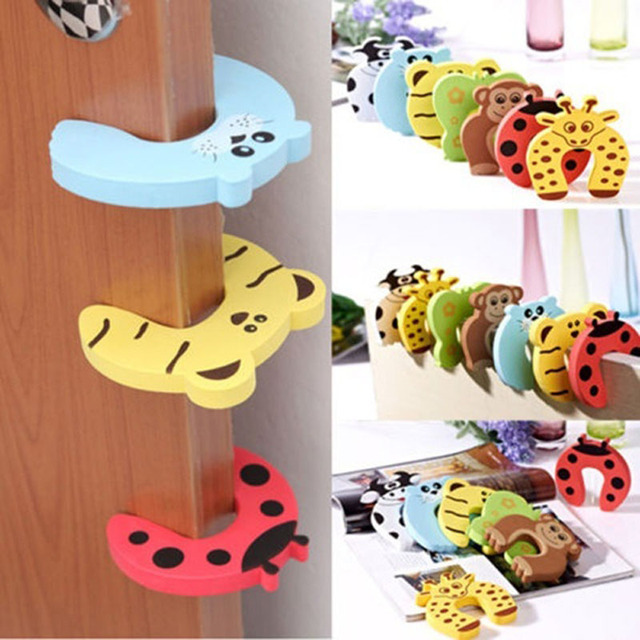 5pcs Lot Creative Cartoon Anti Folder Hand Bathroom Accessories Set Thicken Eva Cute Protect