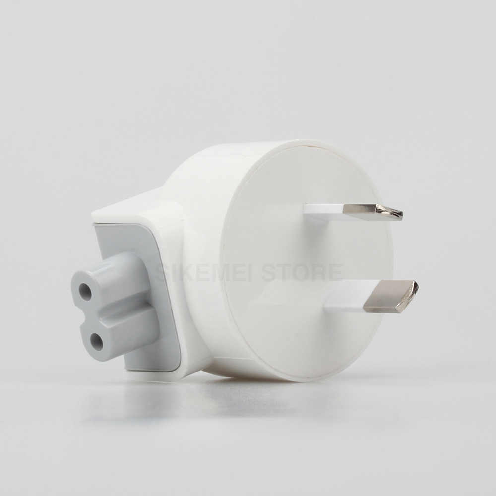 Australia AU enchufe adaptador de cabeza de pato para iPad Air Pro MacBook cargador para carga de pared adaptador de corriente USB australiano 2 Pin