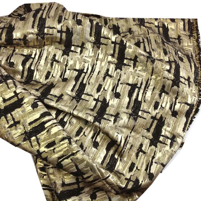 1 yard argintiu metalic Cross Jacquard Brocade Fabric pentru rochie, - Arte, meșteșuguri și cusut - Fotografie 4