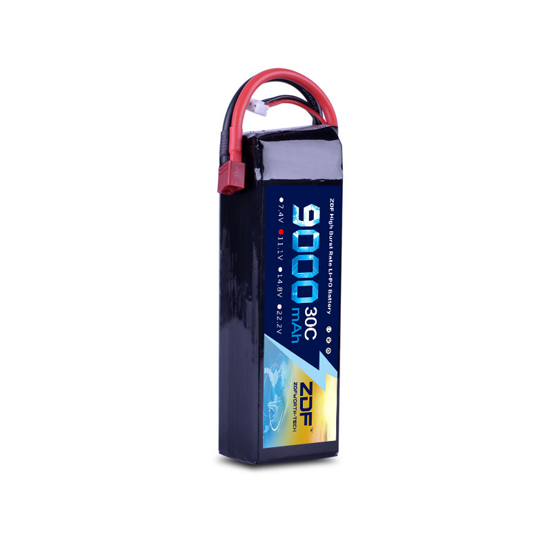 2018 New Good Quality Lipo Battery 11 1V 3S 9000MAH 30C 60C RC AKKU Bateria for