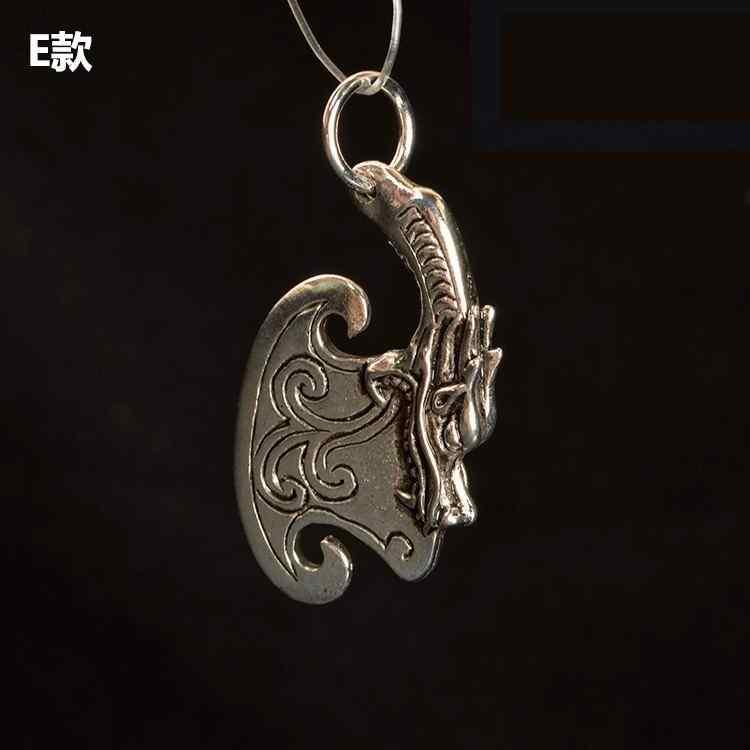 Tybetański srebrny stop buddyjski Vajry tłuczek zawieszki charms DIY tworzenia biżuterii 10 sztuk J0713