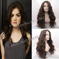 FREE SHIPPING natural Lady's hair body wave hair synthetic hair wigs glueless lace front wig beautiful womens hair