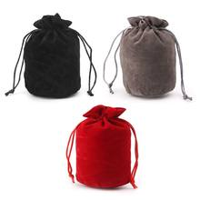 Dungeons And Dragons Velvet Dice Bag Jewelry Packing Drawstring Bag Board Game(China)