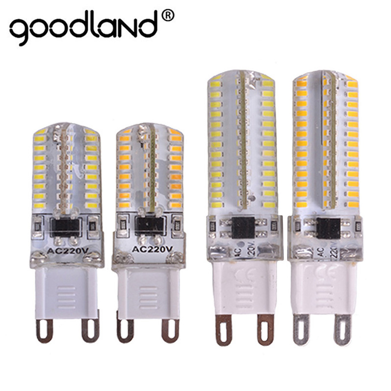 Mini G9 LED Bulb 6W 9W LED G9 Lamp 220V LED Light SMD3014 Silicone Body Lampada LED Corn Lights Lighting Replace Halogen Lamps
