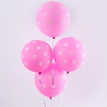 Pink balloon 50pcs/lot12 inch 2.8g spherical latex inflatable wedding air ballon party decoration birthday baby balloons