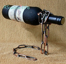 Creative Magic Chain Wine Rack Suspended Craft Home Daily Necessities Decorations