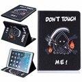 Funda Для iPad Air Case Цветной Печати Кожа PU Case Смарт Tablet обложка для Apple iPad Air 1 5 с Подставкой Wallet Card Slot