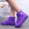 2016 new women shoes woman casual shoes spring/autumn female High Candy Color Flat Canvas Shoes femme breathable zapatos