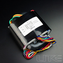 LITE High end R80 115 V/230 V 100W (100VA) r Kern Transformator voor Voorversterker/DAC/Hoofdtelefoon Versterker