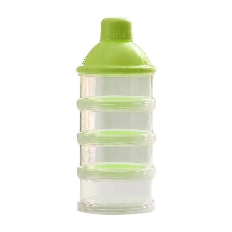 Portable Newborn Infant Milk Powder Container 4 Layers Moistureproof Baby Feeding Food Bottle Snacks Candy Storage Box @ZJF