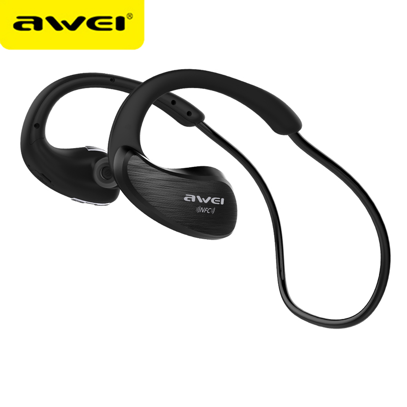 AWEI A885BL Bluetooth Headphones Sport Wireless Earphones fone de ouvido Bluetooth Headset With Microphone Auriculares Ecouteur showkoo stereo headset bluetooth wireless headphones with microphone fone de ouvido sport earphone for women girls auriculares