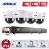 ANNKE Full HD 8CH NVR 1080P POE CCTV System Kit 2MP Indoor Outdoor IP Camera Waterproof