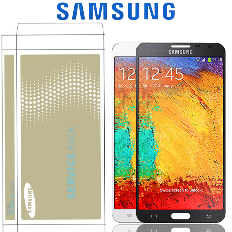 Original 5 7 Replacement LCD Display For Samsung Galaxy Note 3 N9005 Note3 LCD With Screen