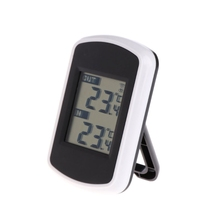ANENG 433MHz LCD Digital Wireless Ambient Weather Station Indoor Outdoor Thermometer стоимость