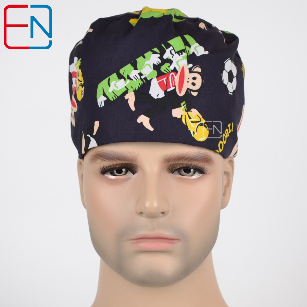 Hennar Surgical Caps For Men In Black