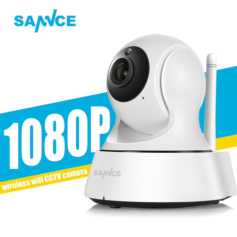 bilder für SANNCE 1080 P Full HD Mini Drahtlose Wi-fi Kamera Sucurity IP Cctv-kamera Wifi Netzwerk Überwachung Smart IRCUT Nachtsicht Onvif