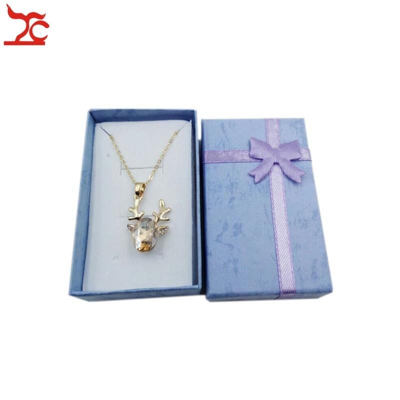 24 Pcs Mix Color Gift Box Jewelry Earring Organizer Storage Box Pendant Paper Package Box Jewelry Ring Storage Box 8*5*2.5CM