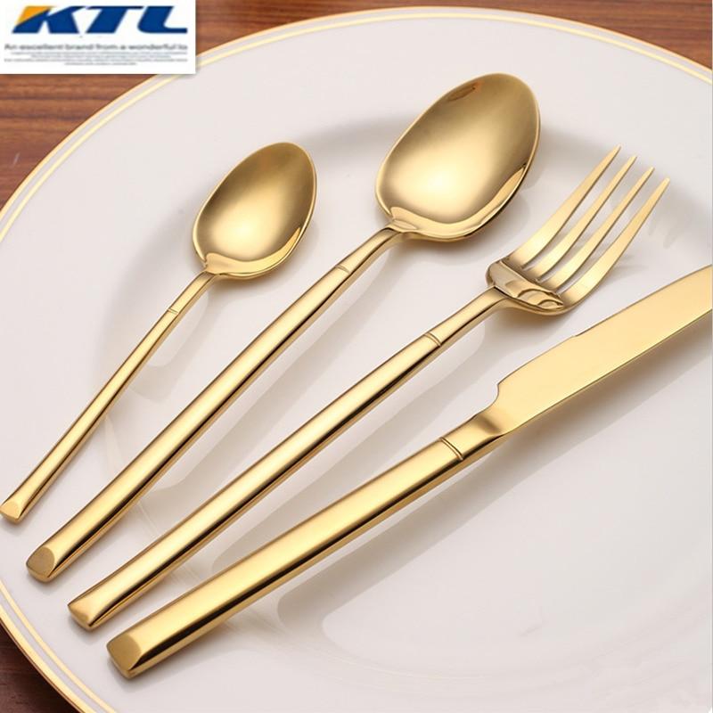 KTL 24 ks Sada špinavého večeře s nejvyšší kvalitou z - Kuchyně, jídelna a bar