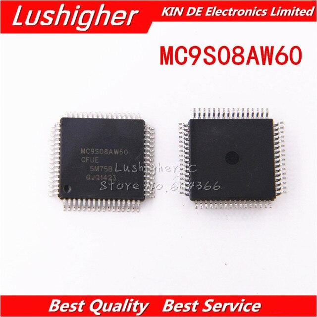 5 шт. MC9S08AW60CFUE QFP MC9S08AW60 QFP64 SMD
