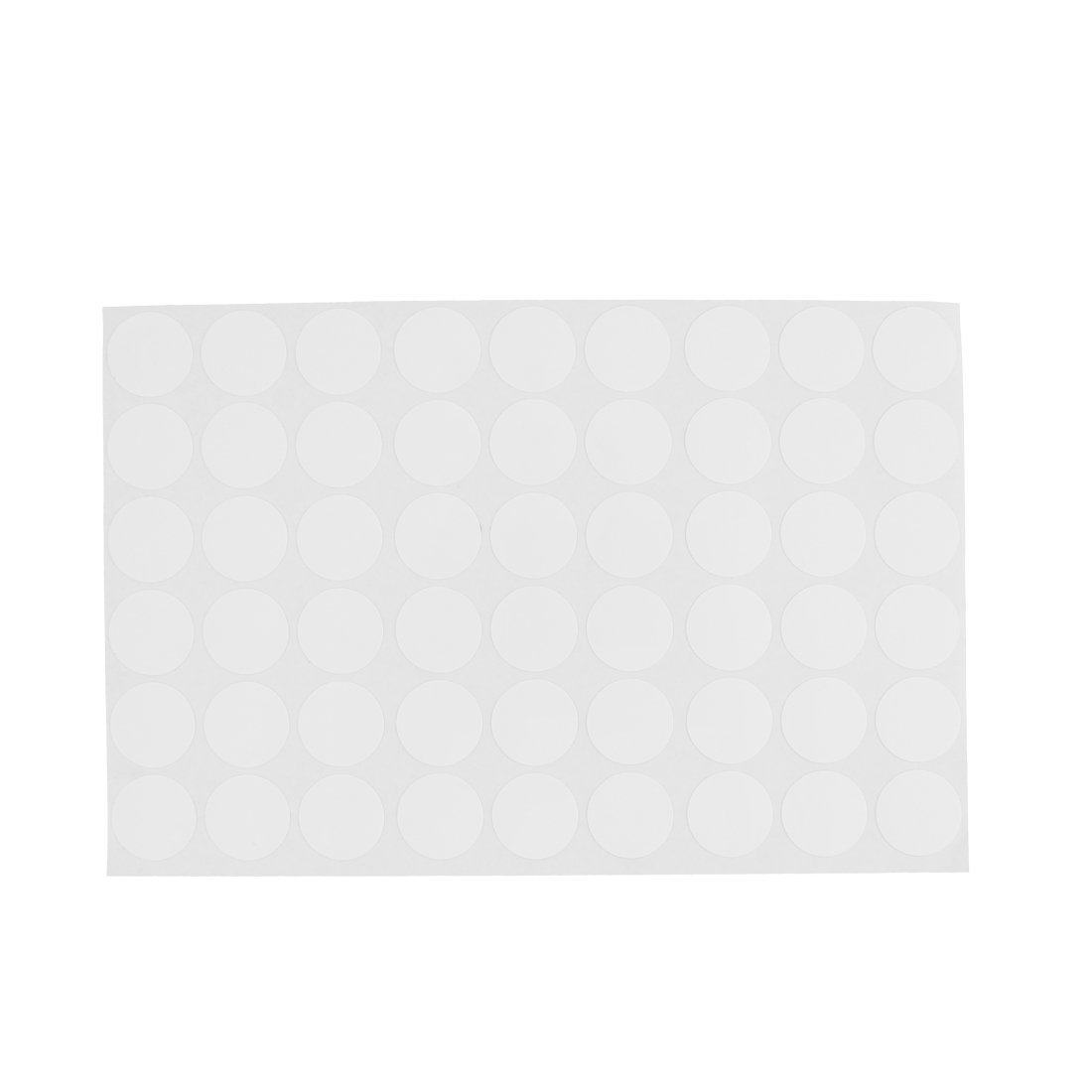 Wardrobe Cupboard Self-adhesive Screw Covers Caps Stickers 54 In 1 White