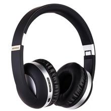 Mais recente Bluetooth 5.0 Fones De Ouvido Sobre A Orelha, Hi-Fi Stereo fone de Ouvido Sem Fio, Dobrável, w/Microfone Embutido Telefones Celulares