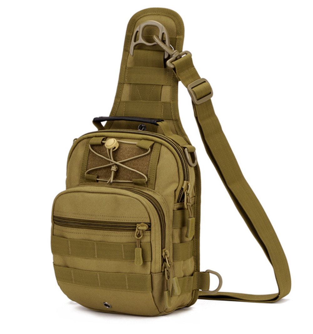 Top Quality Durable Nylon Men Rucksack Shoulder Messenger Tote Bag Hand Military Knapsack Molle Day Chest Assault Back Pack