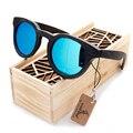 2016 óculos de sol de madeira de bambu marca óculos de sol caixa de madeira do Vintage sol óculos de praia para condução gafas de sol