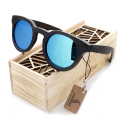 2016 wooden Sunglasses Bamboo brand sun glasses Vintage Wood Case Beach Sunglasses for Driving gafas de sol