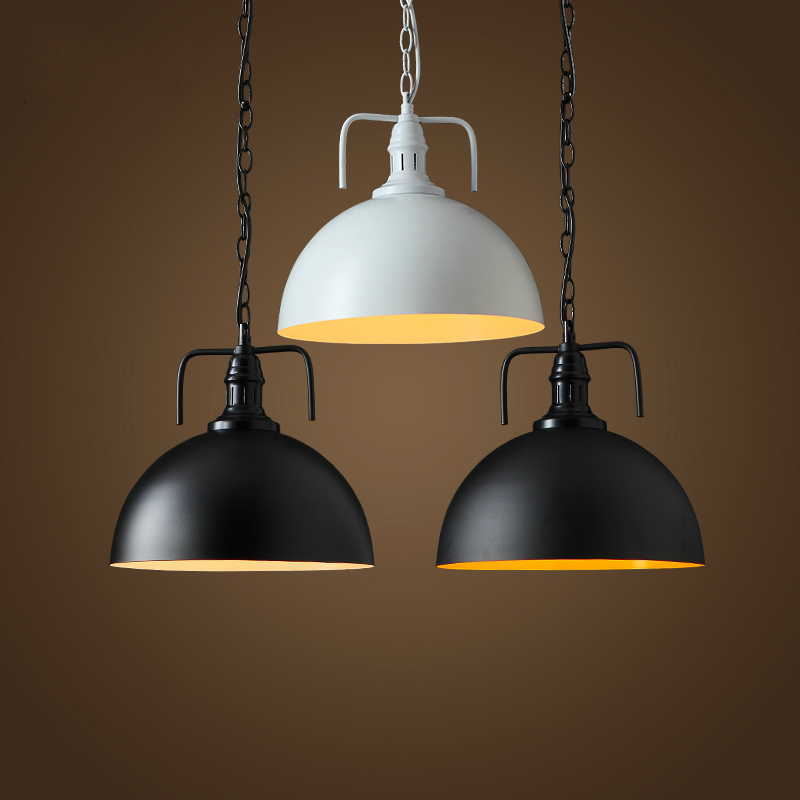 NEW Vintage Iron Pendant Light Industrial Loft Retro Droplight Bar Cafe Bedroom Restaurant American Country Style Hanging Lamps new loft vintage iron pendant light industrial lighting glass guard design bar cafe restaurant cage pendant lamp hanging lights