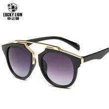 Nueva moda CAT EYE Gafas de sol mujer marca diseñador vintage Sol Gafas  hombres mujer UV400 Gafas oculos de sol feminino 57b7d90b889d