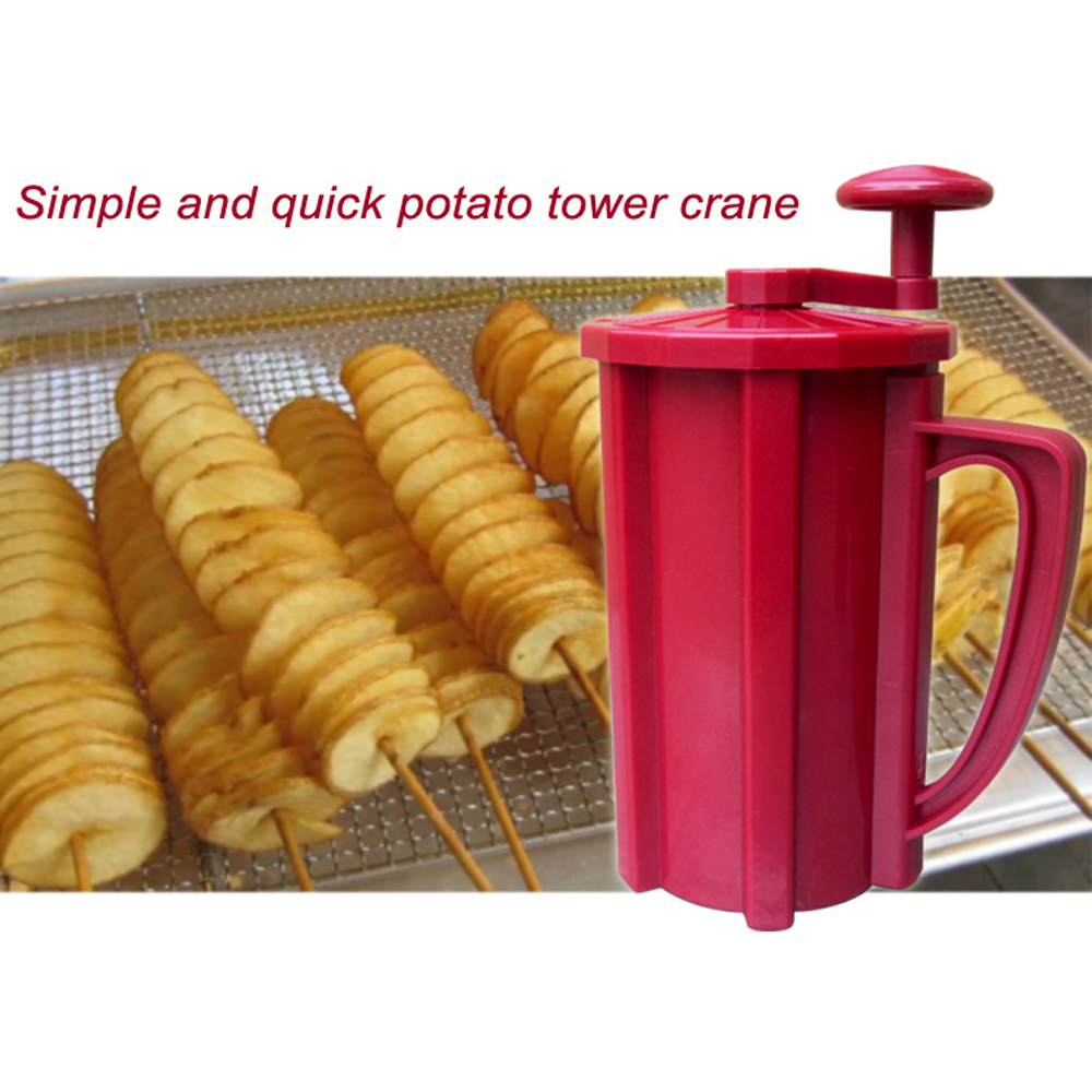 1 IN 1 Commercial Manual Potato Cutter Potato Ribbon Cutter Drill Twist Potato  Cutter Vegetable Slicer Cutting Machine-in Food Processors from Home ...
