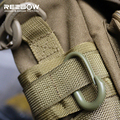 A Dozen of  Nylon Mountaineering Strong EDC U Buckle Tools for Molle Bag Hook Keychain Hanger Climbing Outdoor Army Sport