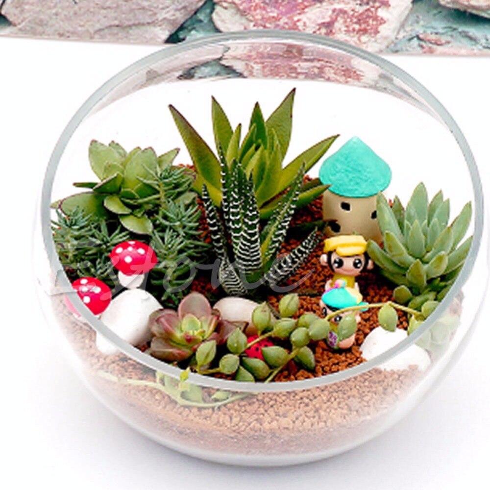 1PC Mushroom Toadstool Miniature Colorful Fairy Garden Terrarium Figurine  Decor New New Drop Ship In Figurines U0026 Miniatures From Home U0026 Garden On ...