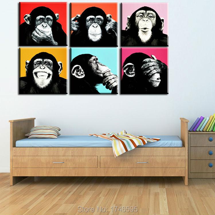 andy warhol monkey-1