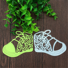 Shoes Metal Cutting dies Scrapbook card album paper craft home decoration embossing stencils cutter