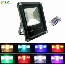 10W 20W 30W 50W LED RGB Flood light IP65 Waterproof Lighting LED Wash FloodLighting Outdoor Lamp LED Reflection 85-265V